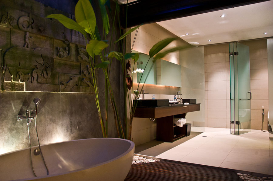 Bali Luxury 2 Bedroom Villas 2-Bedroom Villa Bathroom
