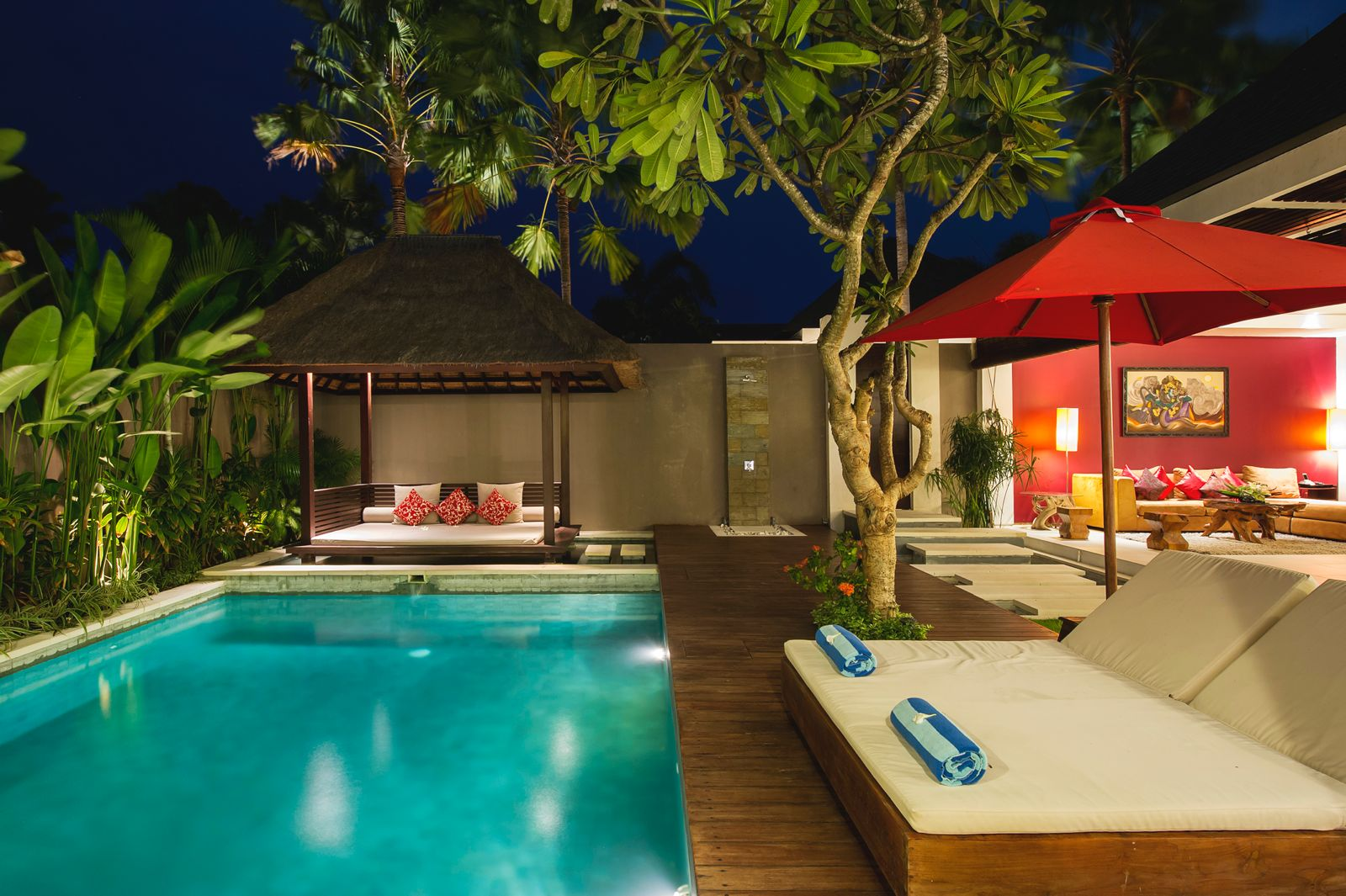 Bali Luxury 2 Bedroom Villas 2-Bedroom Villa Exterior