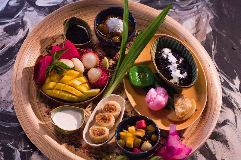 Traditional Balinese Sweets at Chandra Bali Villas in Seminyak