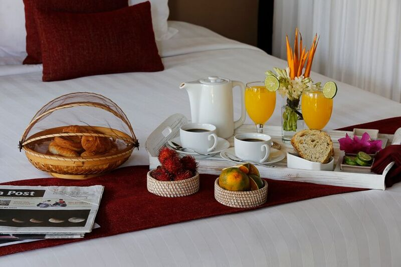 Breakfast in Bed at Chandra