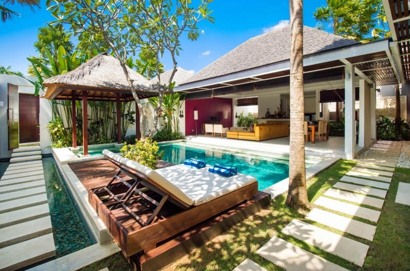 Indulge in a private pool villa in Seminyak