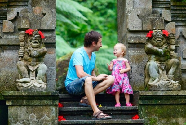 travelling with kids bali