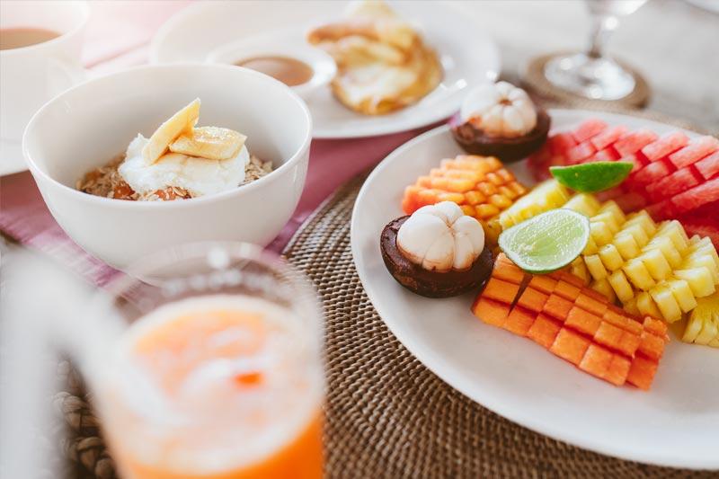 chandra bali villas breakfast