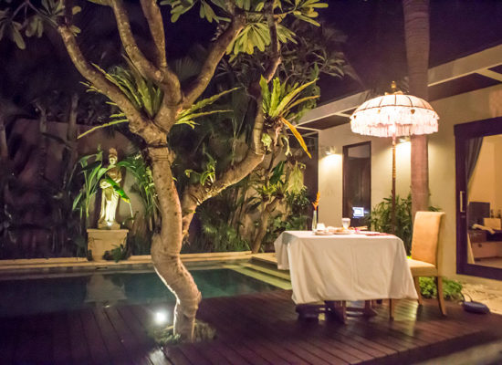chandra bali villas romance package 1