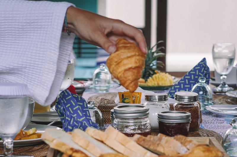 breakfast pastries chandrabalivillas
